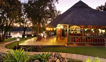 A Zambezi River Lodge