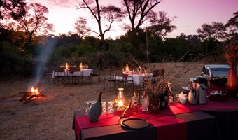 Elephant Valley Lodge Bush Dinner