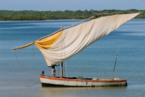 Dhow in Mozambique