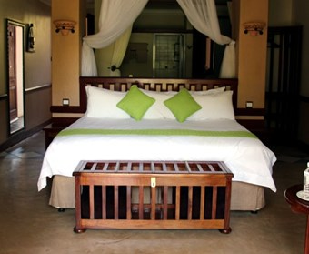 Chobe Safari Lodge kamer